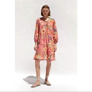 NWT Zara Floral Print Dress